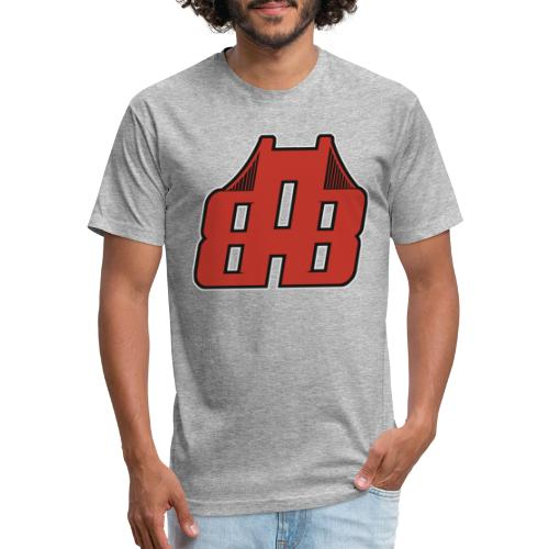 Bay Area Buggs Official Logo - Fitted Cotton/Poly T-Shirt by Next Level