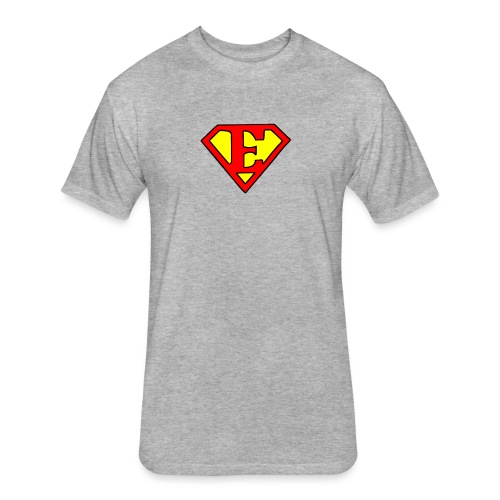 super E - Fitted Cotton/Poly T-Shirt by Next Level