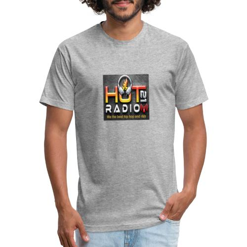 Hot 21 Radio - Fitted Cotton/Poly T-Shirt by Next Level