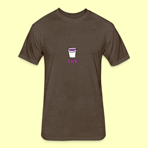 ICE - Fitted Cotton/Poly T-Shirt by Next Level