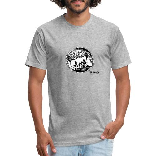 Oh, hello there - Fitted Cotton/Poly T-Shirt by Next Level