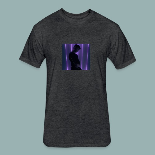 Europian - Fitted Cotton/Poly T-Shirt by Next Level