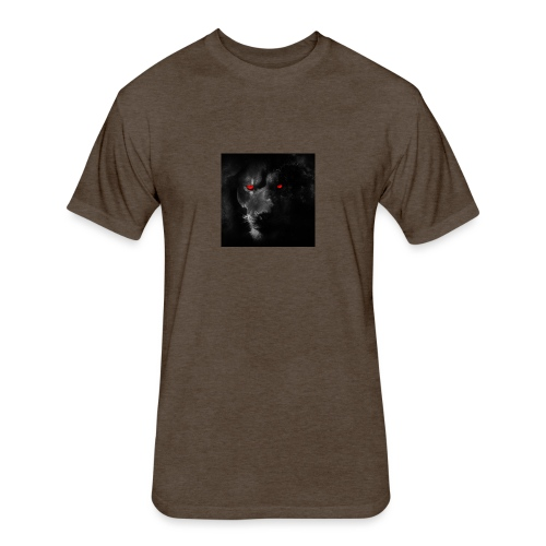 Black ye - Fitted Cotton/Poly T-Shirt by Next Level