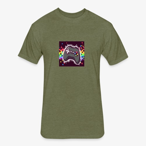 Gamer - Fitted Cotton/Poly T-Shirt by Next Level