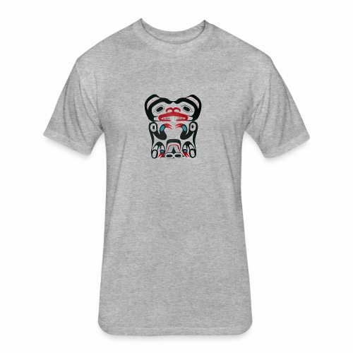 Eager Beaver - Fitted Cotton/Poly T-Shirt by Next Level