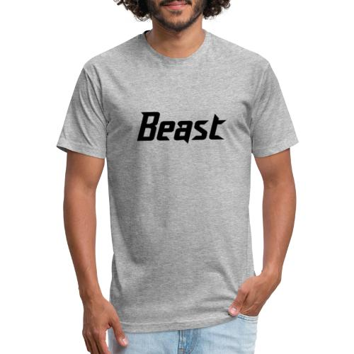BEAST - Fitted Cotton/Poly T-Shirt by Next Level