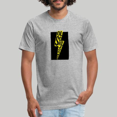 Ol' School Johnny Colour Lightning - Fitted Cotton/Poly T-Shirt by Next Level