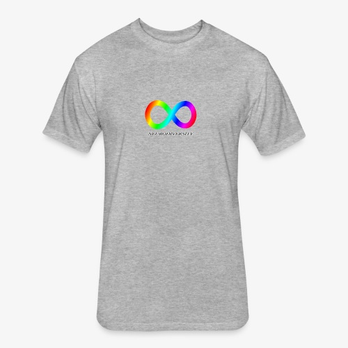 Neurodiversity - Fitted Cotton/Poly T-Shirt by Next Level