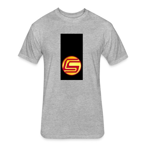 siphone5 - Fitted Cotton/Poly T-Shirt by Next Level