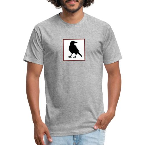 First Nation Defender - Fitted Cotton/Poly T-Shirt by Next Level