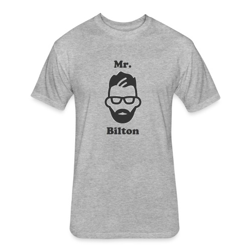 Mr. Bilton - Fitted Cotton/Poly T-Shirt by Next Level