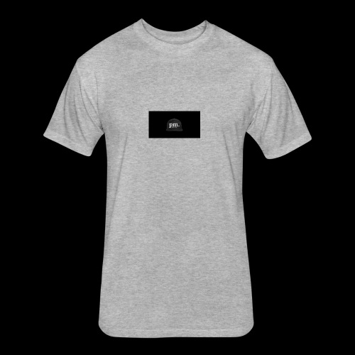 hatt - Fitted Cotton/Poly T-Shirt by Next Level