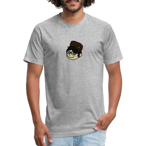 StanleySmug - Fitted Cotton/Poly T-Shirt by Next Level