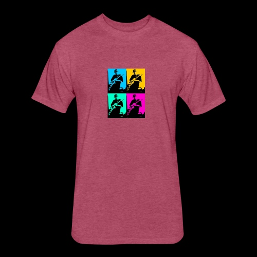 LGBT Support - Fitted Cotton/Poly T-Shirt by Next Level