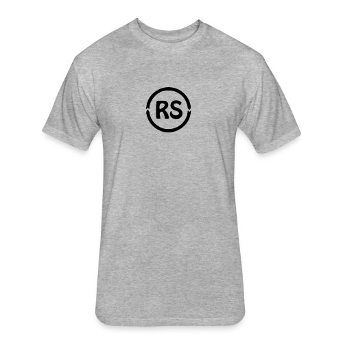 Rs - Fitted Cotton/Poly T-Shirt by Next Level
