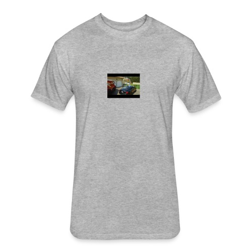 ESSKETIT - Fitted Cotton/Poly T-Shirt by Next Level