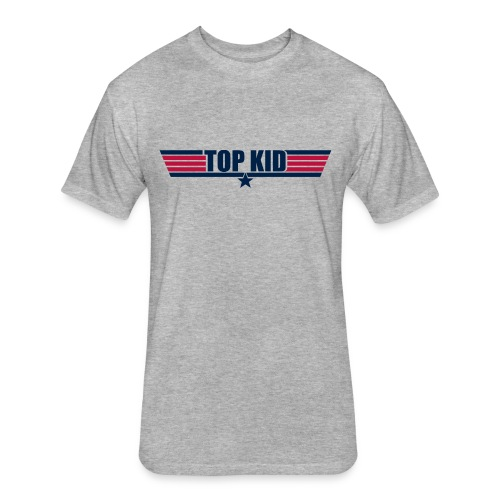 Top Kid - Fitted Cotton/Poly T-Shirt by Next Level