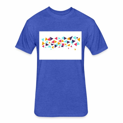 T shirt - Fitted Cotton/Poly T-Shirt by Next Level