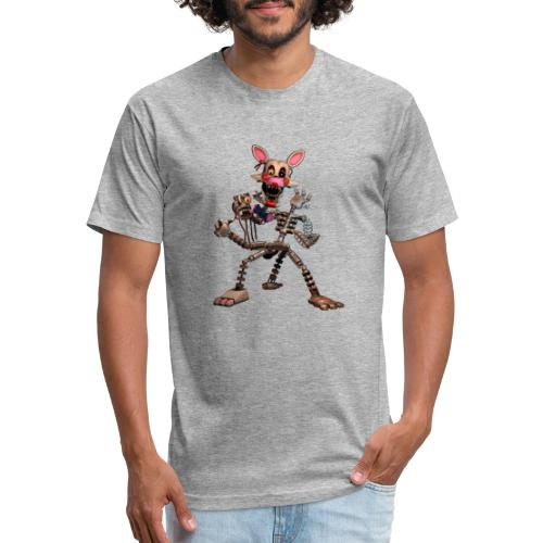 FNAF - Fitted Cotton/Poly T-Shirt by Next Level