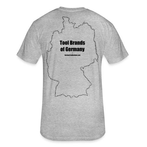 Tool Brands of Germany Outline v1 - Fitted Cotton/Poly T-Shirt by Next Level