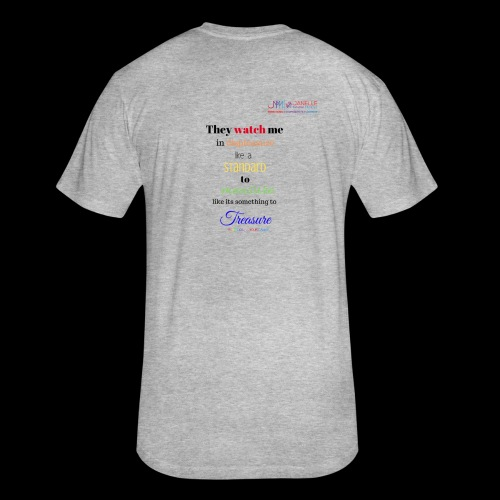 Diss Tee - Fitted Cotton/Poly T-Shirt by Next Level