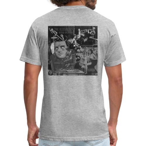 THE ILLennials King Oliver Cover Art - Fitted Cotton/Poly T-Shirt by Next Level