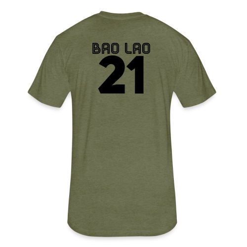 BAO LAO - Fitted Cotton/Poly T-Shirt by Next Level