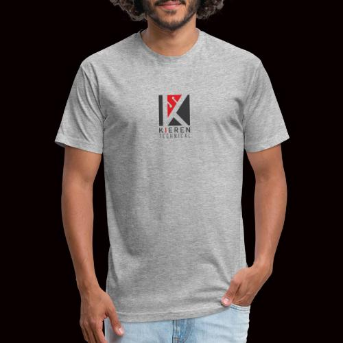 DPV Cave light - Fitted Cotton/Poly T-Shirt by Next Level