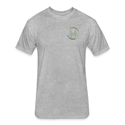 Alloy Double Badge - Fitted Cotton/Poly T-Shirt by Next Level