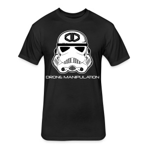 Drone Manipulation - Storm Trooper - Fitted Cotton/Poly T-Shirt by Next Level