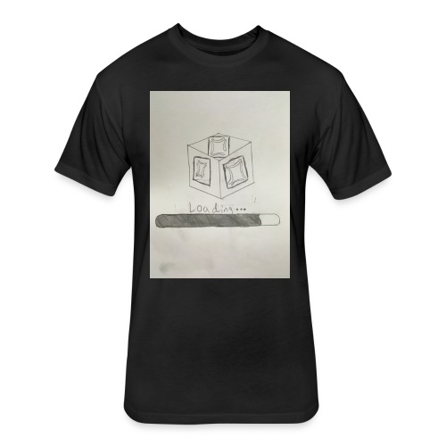 Loading 1 - Fitted Cotton/Poly T-Shirt by Next Level