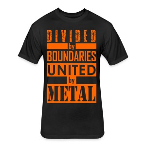 United by Metal - Fitted Cotton/Poly T-Shirt by Next Level