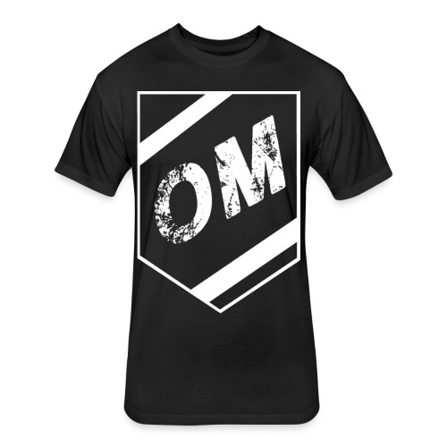 Orgo Drummer Shield - Fitted Cotton/Poly T-Shirt by Next Level