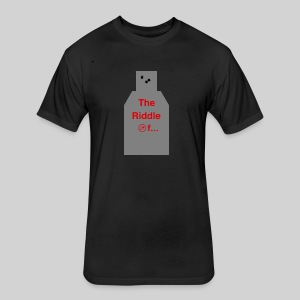 The riddle of... - Fitted Cotton/Poly T-Shirt by Next Level