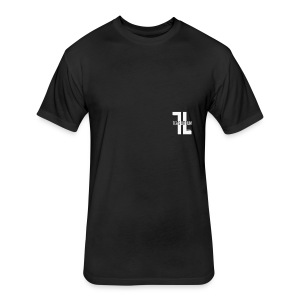 TL Logo - Fitted Cotton/Poly T-Shirt by Next Level
