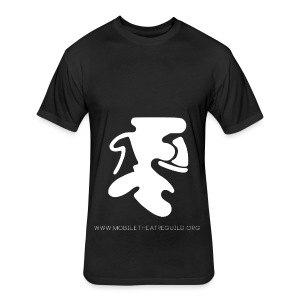 Comedy_Tragedy_Logo_MTG - Fitted Cotton/Poly T-Shirt by Next Level