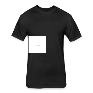 Asymmetry - Fitted Cotton/Poly T-Shirt by Next Level