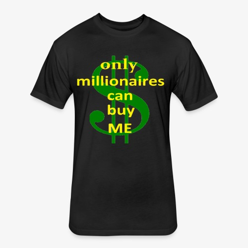 Milioners Tshirt - Fitted Cotton/Poly T-Shirt by Next Level