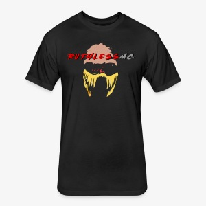 ruthless mc color logo t shirt - Fitted Cotton/Poly T-Shirt by Next Level