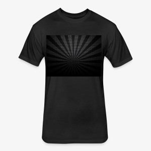 black sunburst fJfSj3wO - Fitted Cotton/Poly T-Shirt by Next Level