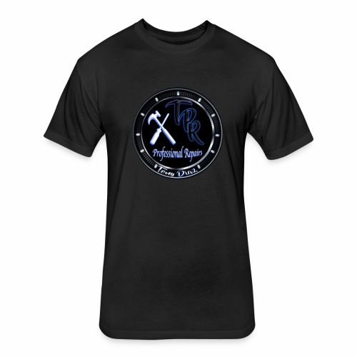 TPR PR - Fitted Cotton/Poly T-Shirt by Next Level