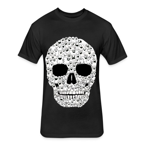 halloween shirts   halloween shirts for men - Fitted Cotton/Poly T-Shirt by Next Level