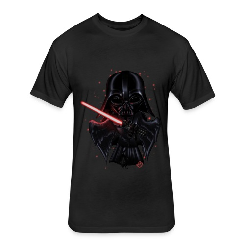 'Bird Vader - Fitted Cotton/Poly T-Shirt by Next Level