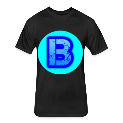 Bananza Logo - Fitted Cotton/Poly T-Shirt by Next Level