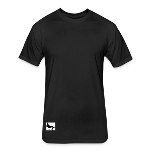 The boss can sit back and relax - Fitted Cotton/Poly T-Shirt by Next Level