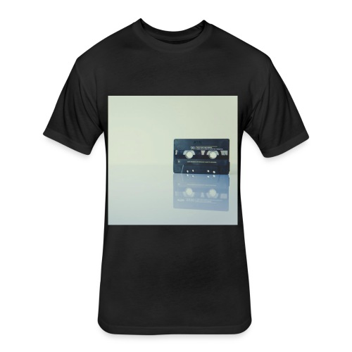 cassette - Fitted Cotton/Poly T-Shirt by Next Level