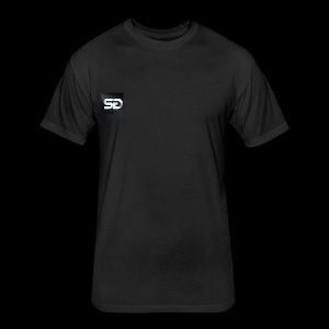 SG SKYJACKED GAMING YOUTUBER LOGO T SHIRT - Fitted Cotton/Poly T-Shirt by Next Level