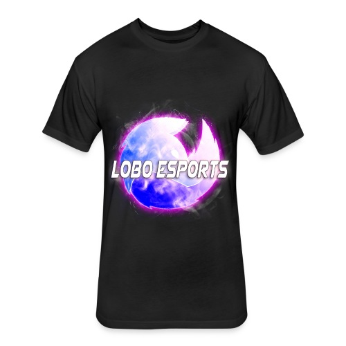 Lobo Esports - Fitted Cotton/Poly T-Shirt by Next Level