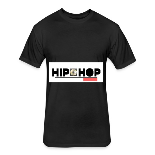 Hip Hop Fresh - Fitted Cotton/Poly T-Shirt by Next Level