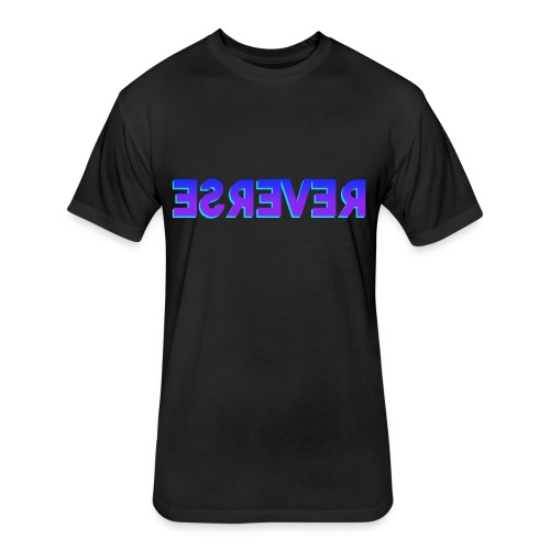 Reverse Clothing Brand - Fitted Cotton/Poly T-Shirt by Next Level
